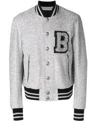Balmain - Teddy Wool Jacket - Lyst