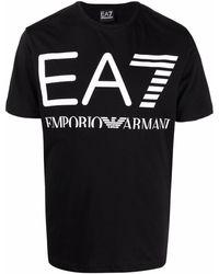 EA7 T-shirts And Polos Black