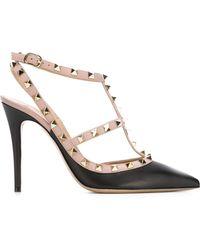 Valentino - Rockstud Ankle Straps - Lyst