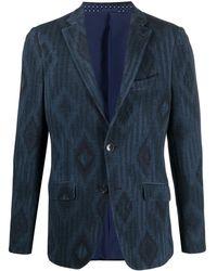Etro Jackets Black - Blue