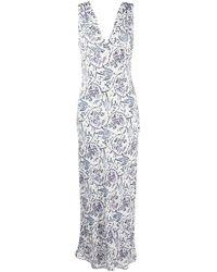 IRO Maya Maxi Dress - White