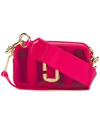 Marc Jacobs The Jelly Snapshot Camera Bag - Pink