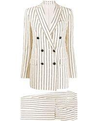 Tagliatore Striped Two-piece Suit - Multicolour
