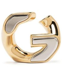 Givenchy Orecchini con catena G - Metallizzato