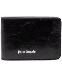 Palm Angels Wallets Black