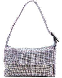 Benedetta Bruzziches Buckle-detail Shoulder Bag - Purple