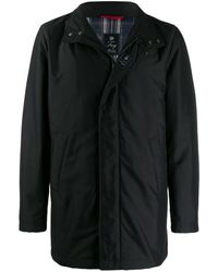 Fay Urban Long Winter Jacket - Black