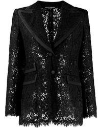 Dolce & Gabbana Dolce&gabbana Cruise Jackets Black