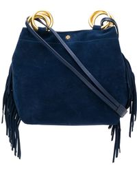 Tory Burch - Farrah Fringed Shopping Bag - Lyst