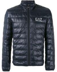 EA7 Down Jacket - Blue