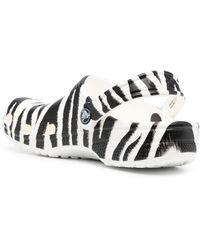 Crocs™ Zebra Print Classic Sandals - Multicolour