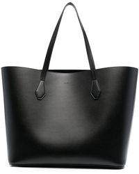 Givenchy Borsa tote con logo goffrato - Nero