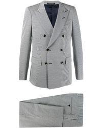 Emporio Armani Suit Black - Multicolor