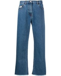 Gcds Boyfriend Denim Jeans - Blue