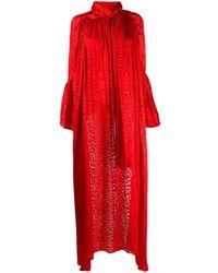 Balenciaga Silk-blend Blouse - Red