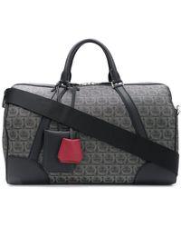 Ferragamo Gancini Weekender Bag - Black