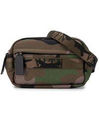 Valentino Garavani Vltn Camouflage Belt Bag - Brown