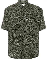 Saint Laurent - Silk Shirt - Lyst