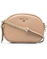 MICHAEL Michael Kors Mercer Leather Mini Bag - Natural
