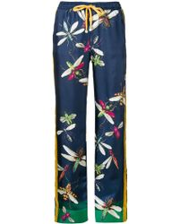 For Restless Sleepers - Pure Silk Trousers - Lyst