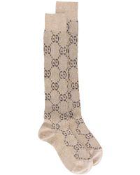 Gucci - Logo Cotton Socks - Lyst
