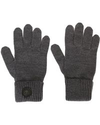 DSquared² Wool Classic Gloves - Grey