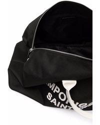 Emporio Armani Saint Tropez Logo Holdall - Black