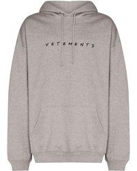 Vetements Sweaters Gray