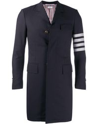 Thom Browne Chesterfield Overcoat - Multicolour