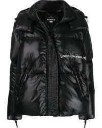 Peuterey - Contrast Print Padded Jacket - Lyst