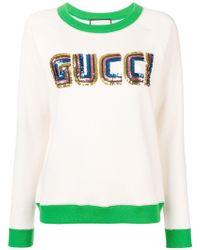 Gucci - Game Cotton Sweatshirt - Lyst