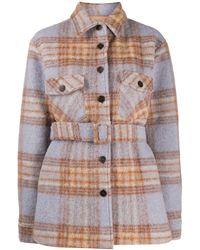 ANDAMANE Evita Wool Jacket - Blue