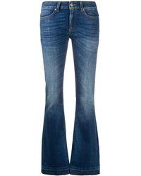 Dondup Pantalone Neon - Blu