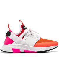 Tom Ford Sneakers Orange - Multicolor