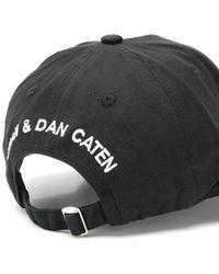 DSquared² Logo Baseball Cap Black