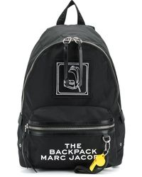 Marc Jacobs The Pictogram Backpack - Black