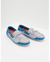 Swims - Stride Lace Shoes Blue - Lyst