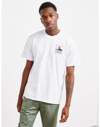 Edwin - Mens Fuji Short Sleeve T-shirt - Online Exclusive White - Lyst