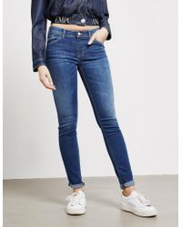Emporio Armani J25 Slim Jeans Blue