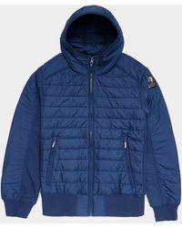 Parajumpers Gordon Full Zip Hoodie Navy Blue