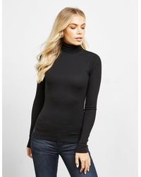 Polo Ralph Lauren Pony High Neck Top Black