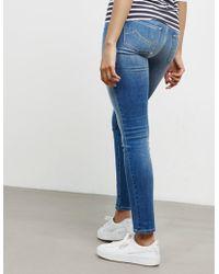 Jacob Cohen - Womens Kim Slim Jeans Blue - Lyst