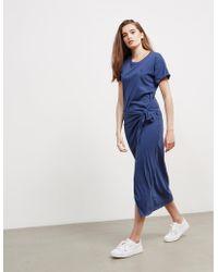 Polo Ralph Lauren - Womens T-shirt Dress - Online Exclusive Blue - Lyst