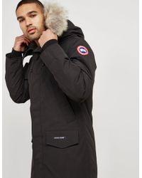 Canada Goose Langford Padded Parka Jacket Black