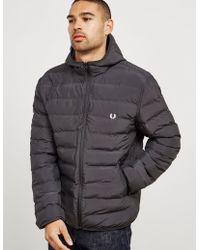 Fred Perry - Mens Padded Brentham Jacket Black - Lyst