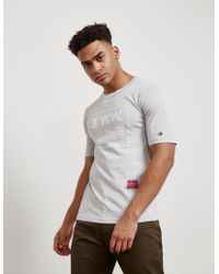 22e9dd4dc066 Lyst - Champion Wood Wood X Champion Tears S s T-shirt in Natural ...