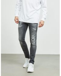 Replay - Anbass Slim Jeans Grey - Lyst