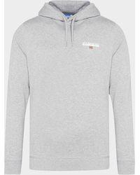 Napapijri Ice Small Logo Hoodie - Grey