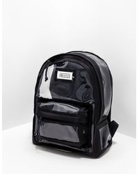 Maison Margiela Pvc Backpack - Online Exclusive Bag Black