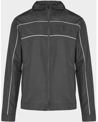 Castore Panel Hooded Jacket - Black